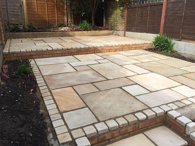 Image result for Indian Sandstone Paving Ideas   Sandstone paving .
