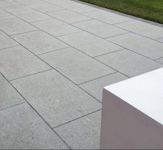 Mid Grey Granite Natural Patio Paving Slabs Pack 600x900 18m2 20mm .