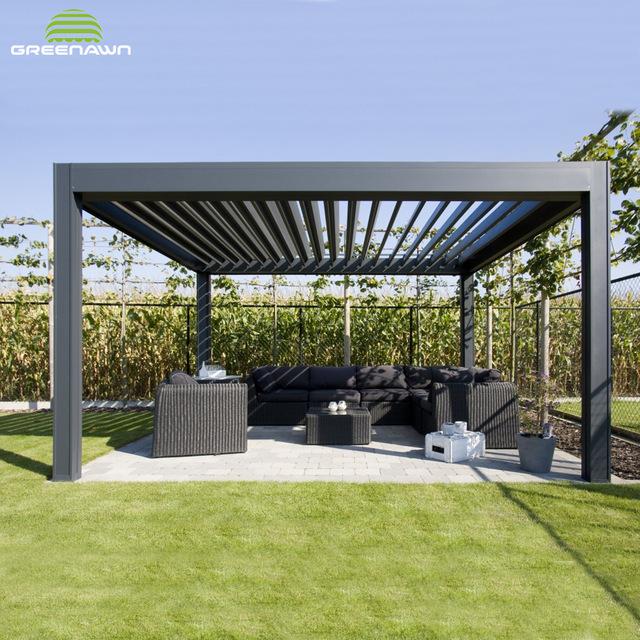 Durable Aluminium Pergola Attached To House Build Your Own Pergola .