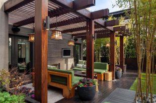 25 Beautiful Pergola Design Ideas | Backyard patio designs .
