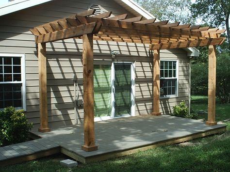 25 Beautiful Pergola Design Ideas   Backyard patio, Backyard .