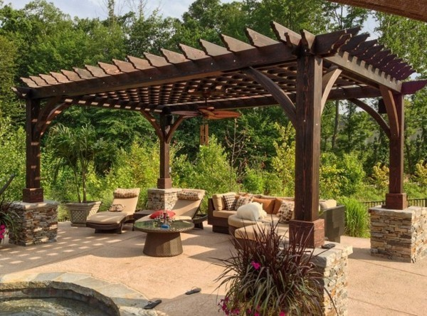 17 Exceptional Pergola Designs To Protect From The Sun With Sty