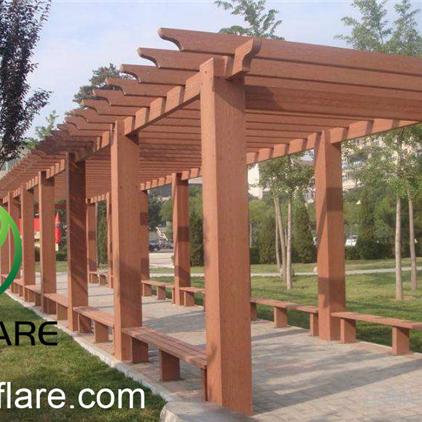 Wpc Patios Timber Pergola Designs In Garden Or Balcony - Buy .