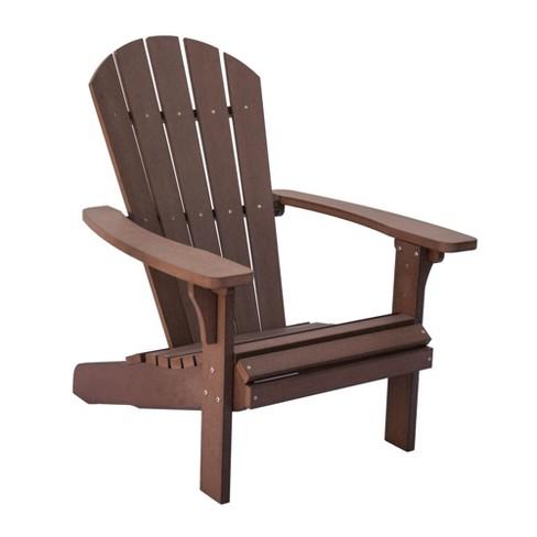 Royal Palm Plastic Adirondack Chair - Shine Company Inc. : Targ