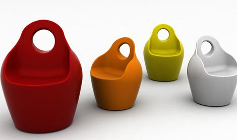 Modern Plastic Outdoor Chairs by Domitalia | Plastic outdoor .