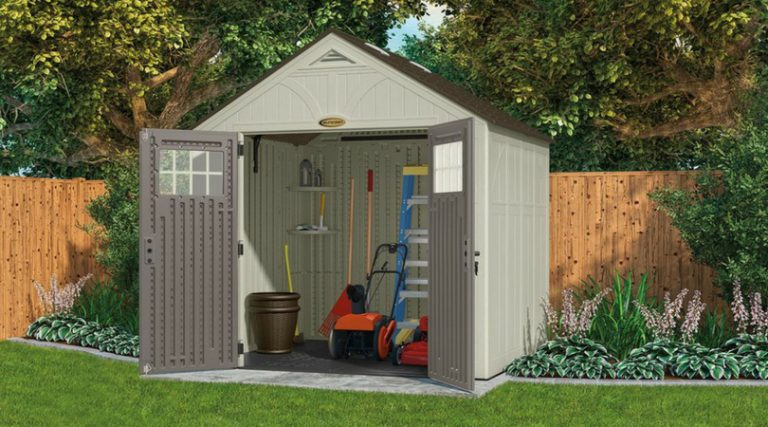 Rot-Proof Plastic Garden Storage Sheds - Quality Plastic She
