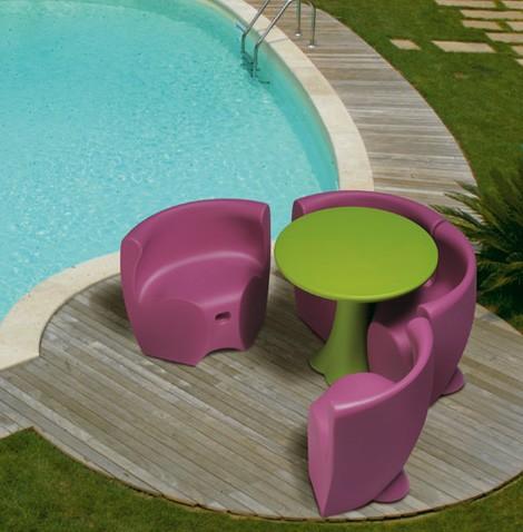 Plastic Outdoor Furniture from MyYour: Fun, Fresh European Design .