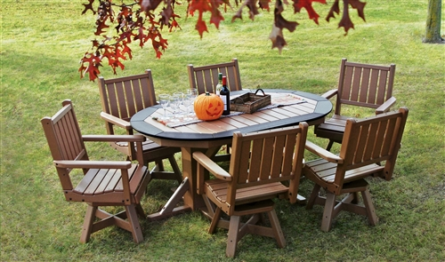 Freedom Outdoor Furniture | Recycled Plastic Outdoor Dining Tables .