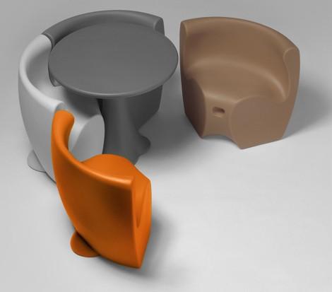 Plastic Outdoor Furniture from MyYour: Fun, Fresh European Desi