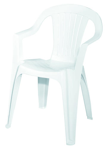 Adams® White Low Back Patio Chair at Menards