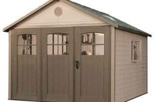 Amazon.com : Lifetime 11 ft. x 18.5 ft. Garage Shed : Storage .