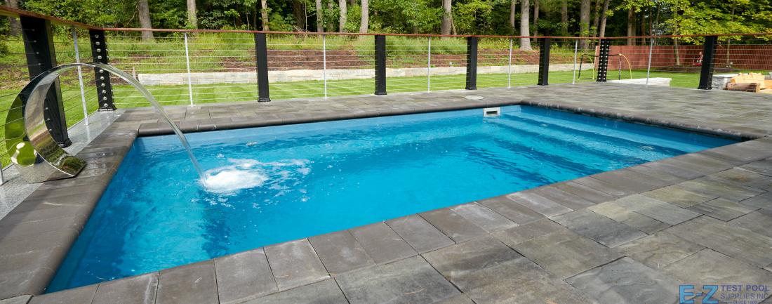 What is a Fiberglass Plunge Pool? - E-Z Test Pool Suppli