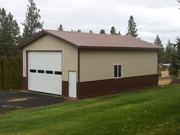 Custom Pole Barn Garage & Shed Kits | Hansen Pole Buildin