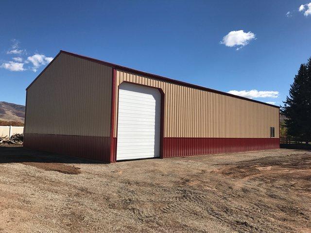 40x80 Pole Barn - Huntsville,