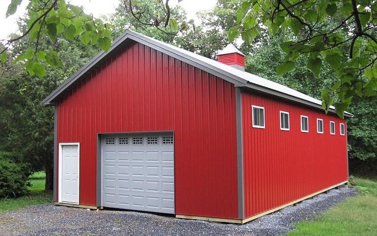 What Is a Pole Barn? | DIY Pole Barns | Oh
