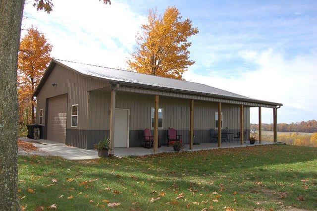 Post Beam Barn Plans For Sale | Pole barns direct, Pole barn house .