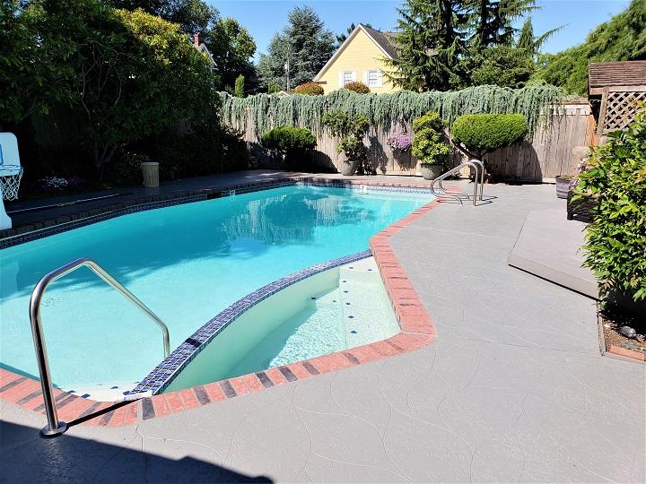 Pool Deck Resurfacing Seattle, WA : Stamped Concrete & Spray Textu