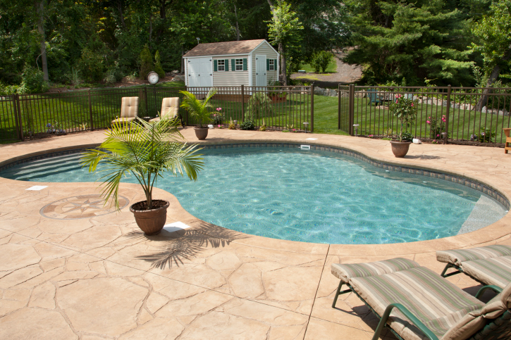 Which Pool Deck Material is Right For You? - HFS Financi
