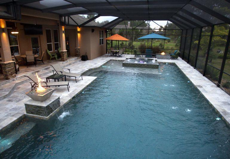 Trinity Swimming Pool Remodeling Ideas - Grand Vista Poo