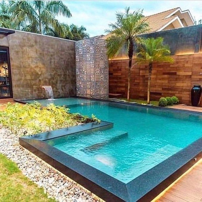 36 Stunning Small Pool Ideas For Small Backyard   Swimming pools .