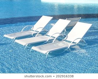 Pool Lounge Chair Images, Stock Photos & Vectors | Shuttersto