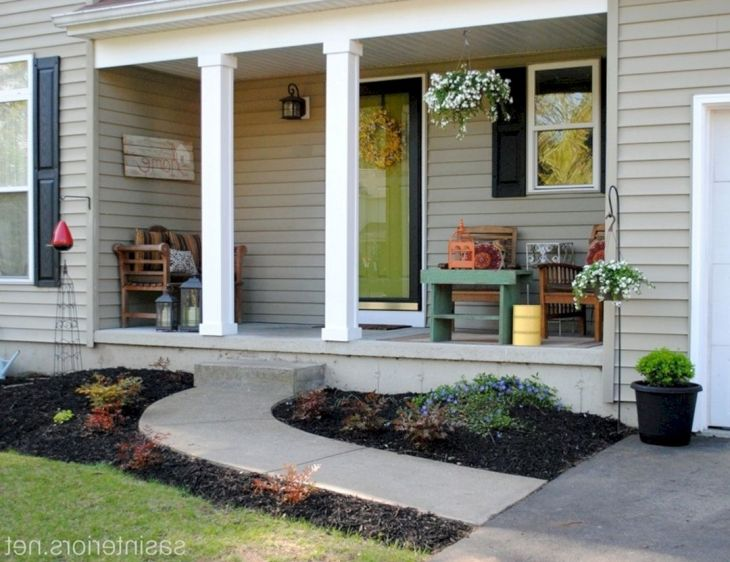 Top And Wonderful 8 Small Front Porch Decorating Ideas – DECORE
