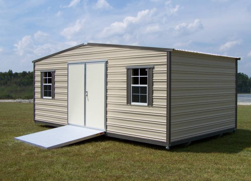 Thrifty Aluminum Buildings BTHS10x12 Standard Style Metal .