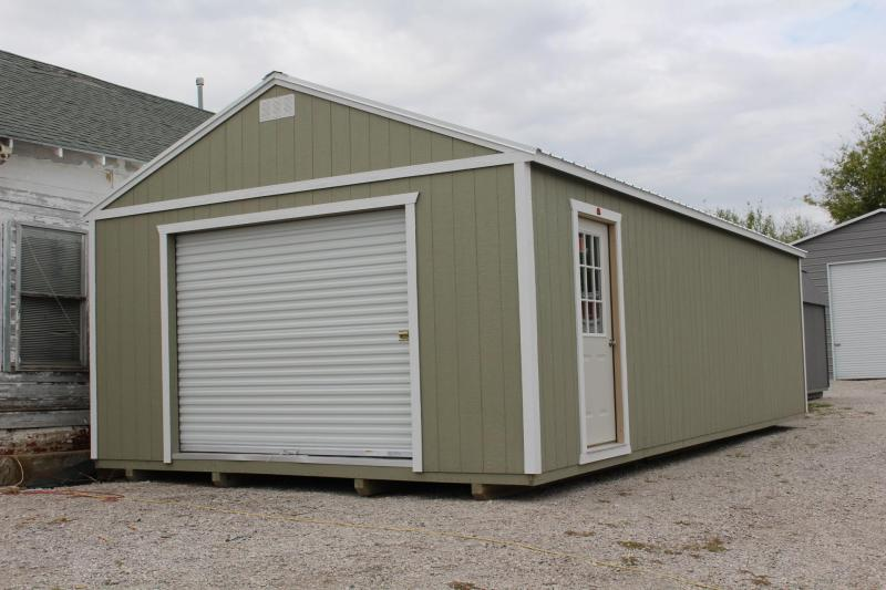 16X32 PORTABLE GARAGE | Garages, Barns, Portable Storage Buildings .