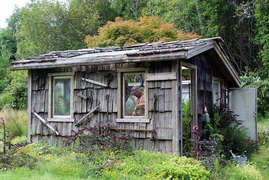 Potting shed - Picture of Mendocino Coast Botanical Gardens, Fort .