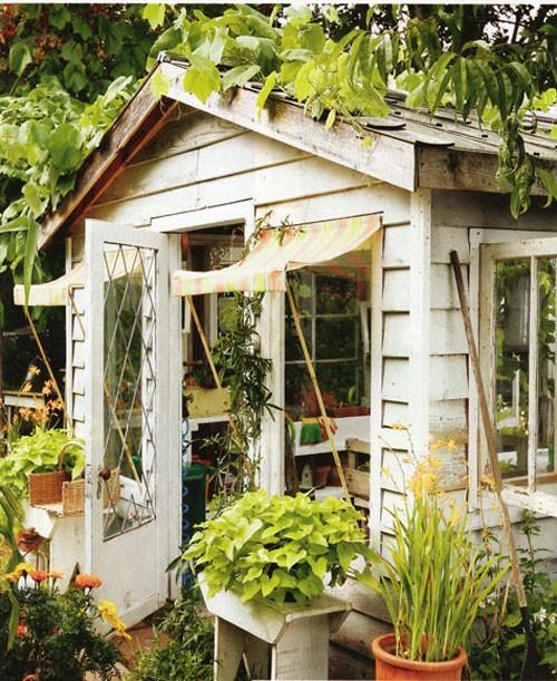10 Cool Garden Potting Sheds - Shelterne