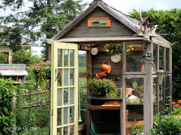 Wonderful Potting Shed - how to turn any potting area into .