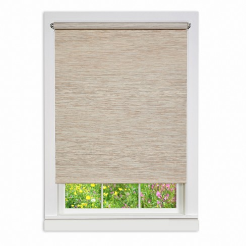 Cords Free Privacy Jute Shades And Blinds Beige - Achim : Targ