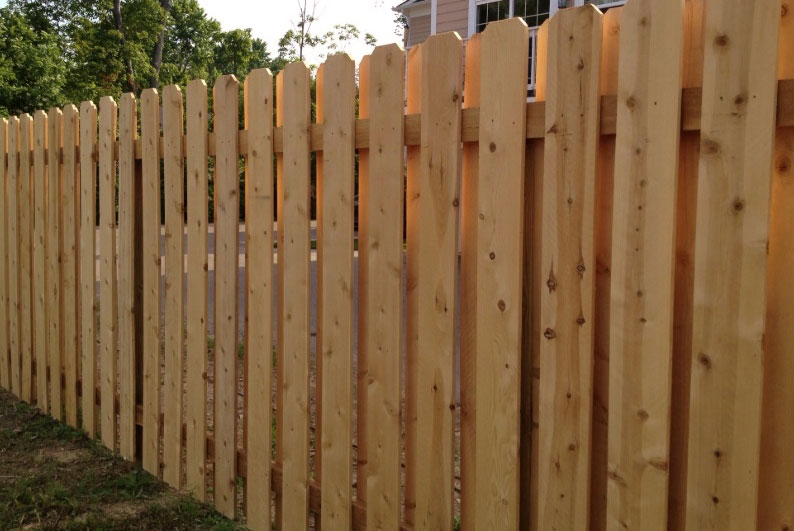 The Shadow-Box Privacy Fence - Pecos Fen