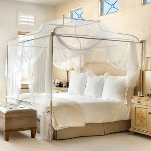 Cameron Iron Canopy Queen Bed and Luxury Kid Furnishings Including .