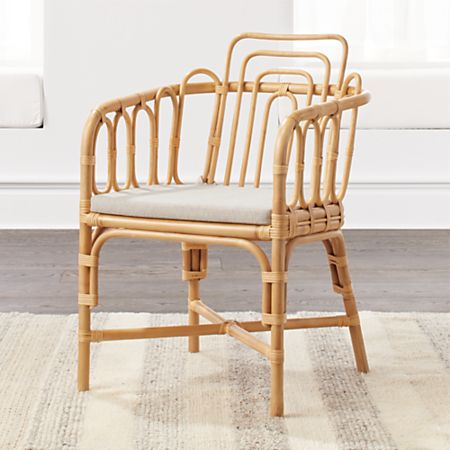 Kids Rattan Chair | Crate and Barr