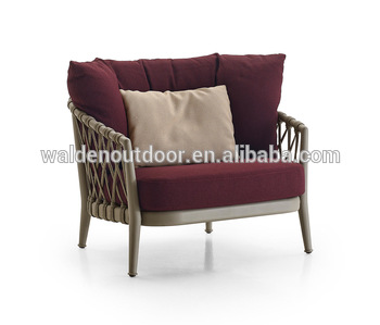 Walden Outdoor Patio Furniture Armchair/ Leisure Single Arm Sofa .