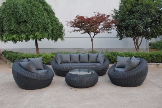 China New Design Outdoor Furniture Sofa Set4PCS of Aluminium .