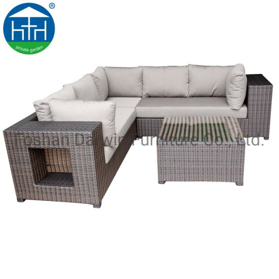 China Patio Furniture Corner Sofa Leisure Living Room Sectional .