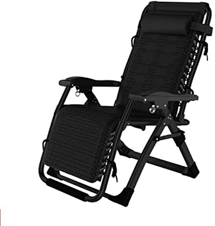 Amazon.com : LHNLY-Lounge Chairs Reclining Garden Chair Outdoor .