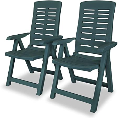 Amazon.com : Unfade Memory 2 pcs Folding Reclining Garden Chairs .