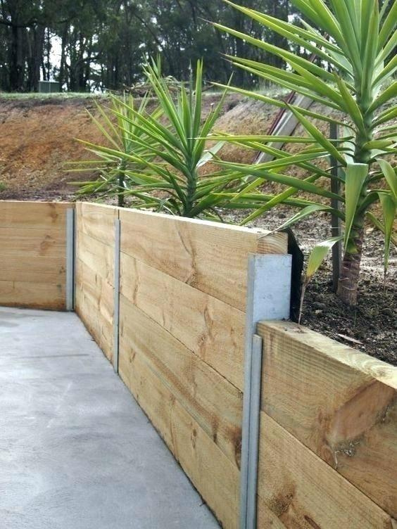 inexpensive retaining wall ideas retaining garden wall ideas .