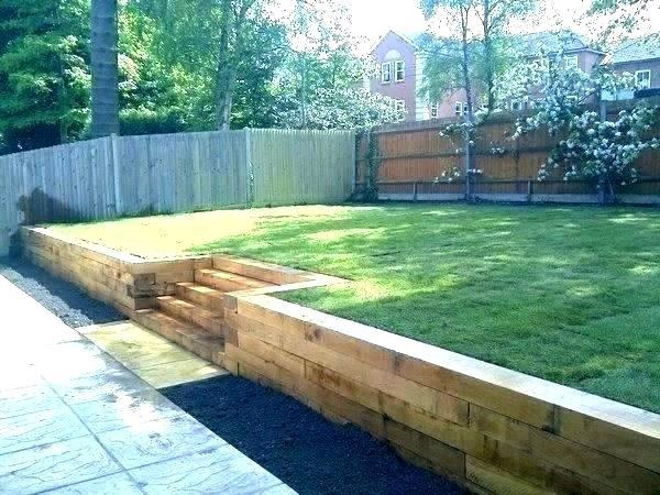 Backyard Retaining Wall Ideas Wood Retaining Wall Ideas – zgert.