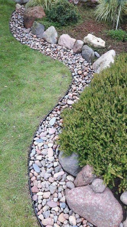 Rock garden ideas landscaping for make you happy 11   Garden .