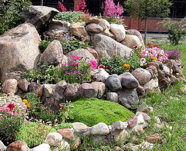 Rock Garden Design Tips, 15 Rocks Garden Landscape Ide