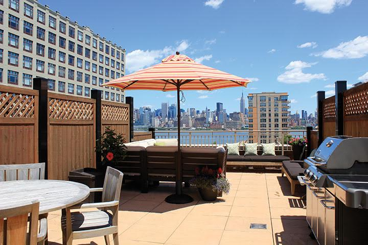 Living the High Life: Luxury Roof Deck Amenities on NJ's Gold .