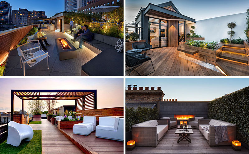 These 10 Rooftop Decks Are Always Ready For Outdoor Entertaini