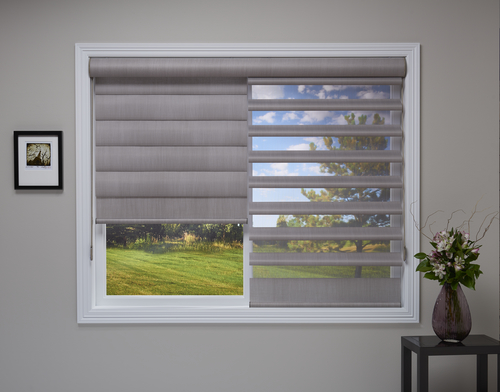 Dual-Functioning Shades: Room Darkening and Light Filtering in O
