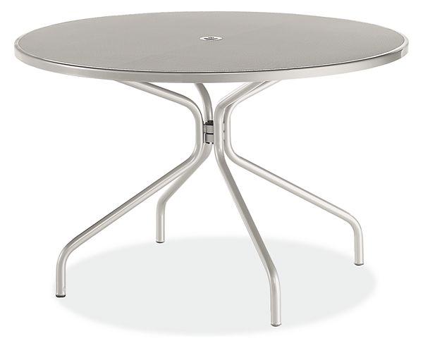 Kona Round Tables - Modern Outdoor Dining & Bar Tables - Modern .