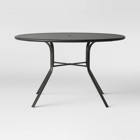"""Avalon 48"""" Round Metal Patio Dining Table - Project 62™ : Targ"""