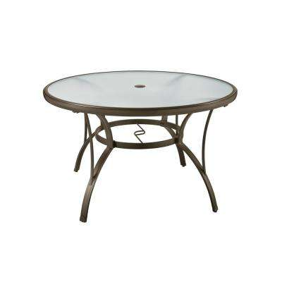 Classic - Round - Glass - Patio Dining Tables - Patio Tables - The .